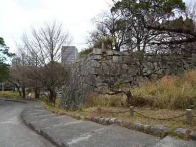 福岡城石垣