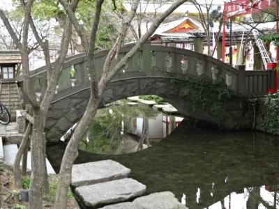 佐賀市のアーチ橋