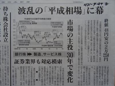 4/27付新聞