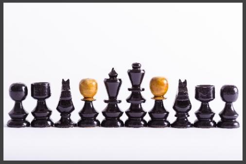 チェス10体