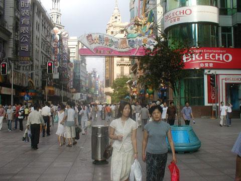 上海・南京東路