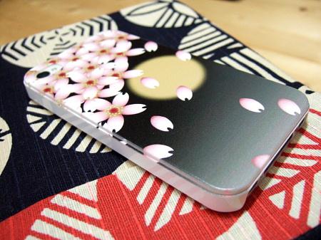 F-08Eの桜の和柄カバー