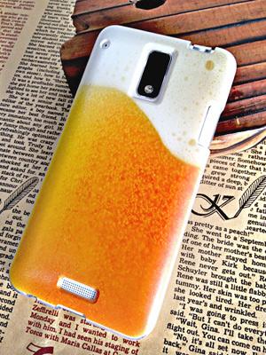 Galaxy S5のビールのおもしろケース/カバー