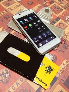 Xperia Z4【ケース de ばっちり!スマートフォン写真2】手帳型ケース