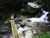 駒ノ川にかかる渡り橋