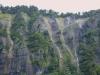 岩壁の表面