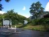 海谷三峡パークの駐車場