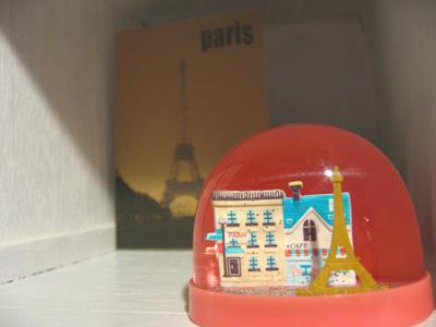 スノードーム-パリ-