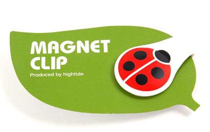 マグネットクリップ