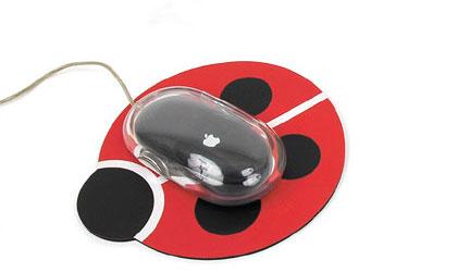 マウスパッドレディバグ