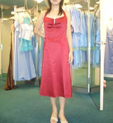 ブライスメイドドレス試着