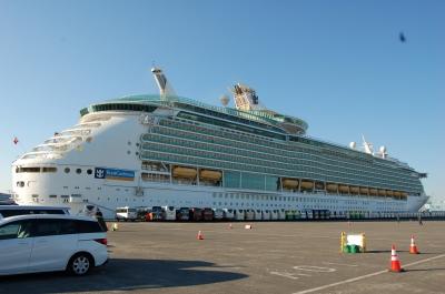 豪華客船の写真