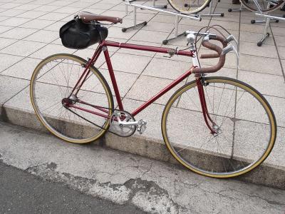 自転車の 自転車 姿勢 : 自転車ビルダーの小池一介さん ...