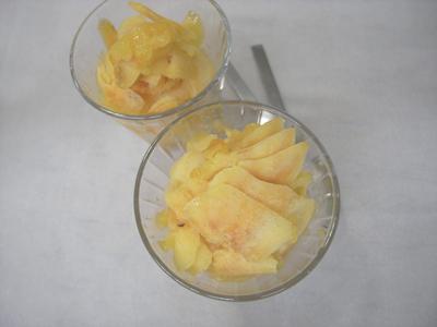 柿シャーベット