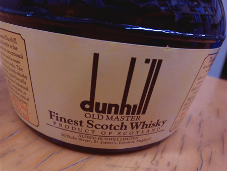 03 dunhill OldMaster FinestScotchWhisky