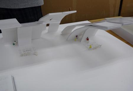 747理科大.卒業設計エスキス