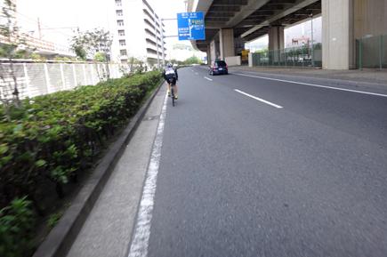 803日曜ふたり練@八景島100km.JPG