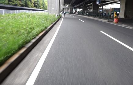 806日曜ふたり練@八景島100km.JPG