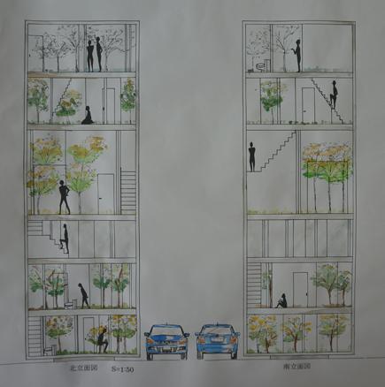 615明治大学.2年設計課題「住宅」.JPG