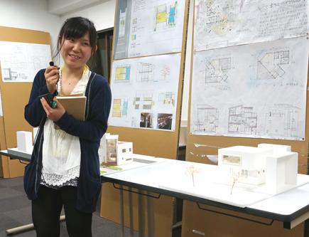 648理科大.2年設計課題「住宅」.JPG