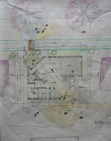 649理科大.2年設計課題「住宅」.JPG