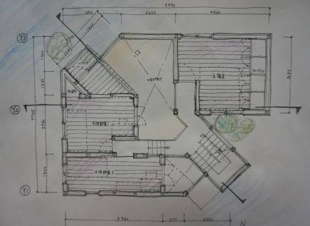 650理科大.2年設計課題「住宅」.JPG