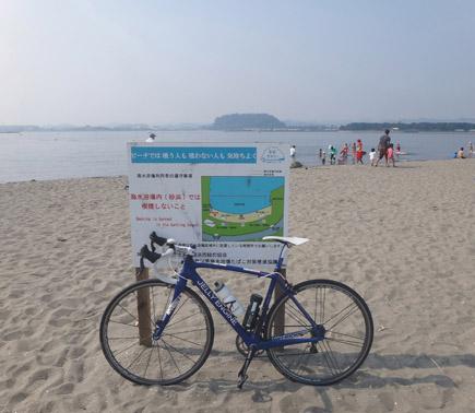 104日曜練@八景島107km、最高酷暑.JPG