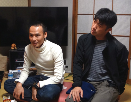 111小畑カワチ自転車大忘年会.高岡.マッサー中野.JPG