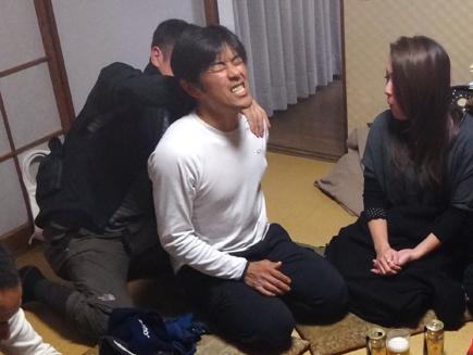 113小畑カワチ自転車大忘年会.宮澤崇史.花菜子.マッサー中野.JPG