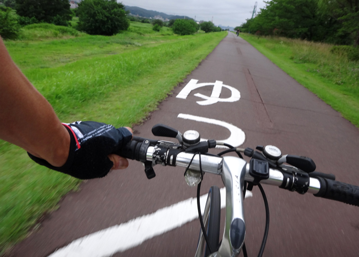 07自転車練習再開.2回目