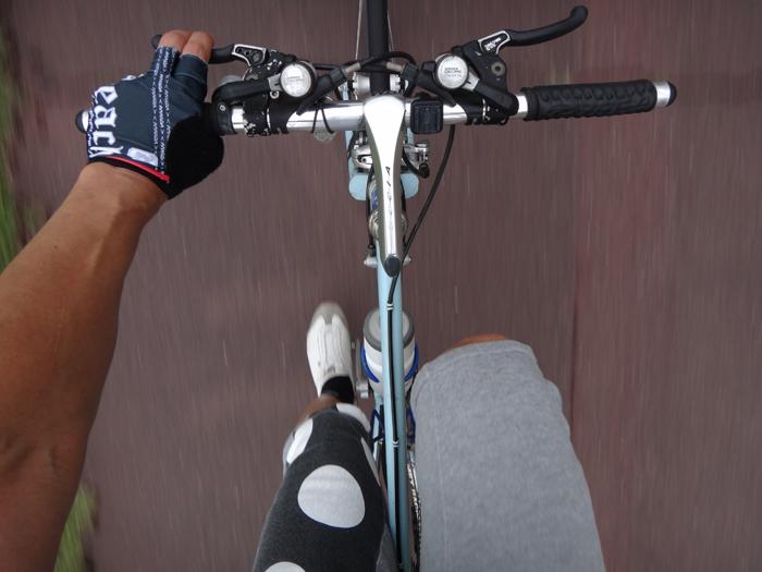 02自転車練習再開.2回目