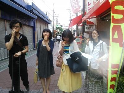 買い食いコロッケ40円!