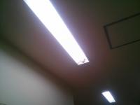 蛍光灯清掃