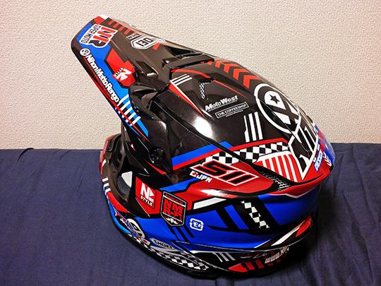 shoei vfx-wヘルメットラップ