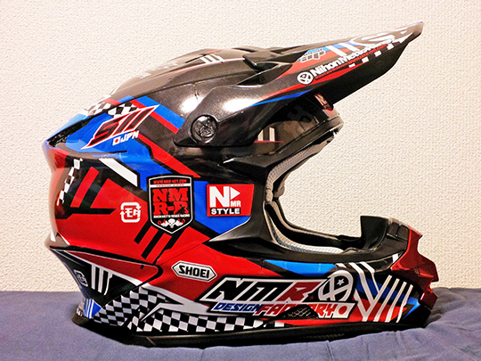 shoei vfx-w helmet wraps