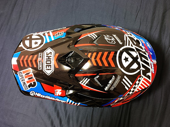 shoei vfx-w helmet wraps