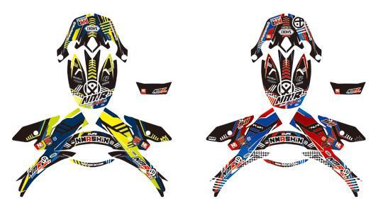 helmet decal design