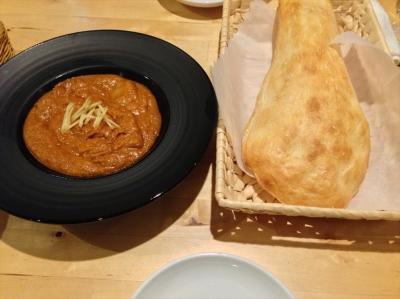 very hot チキンカレー