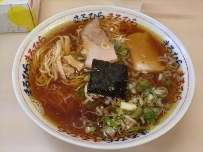 ラーメン まるひら@釧路市 ラーメン(醤油)