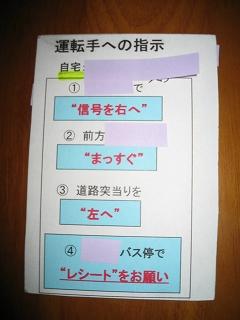 お助けカード(表)