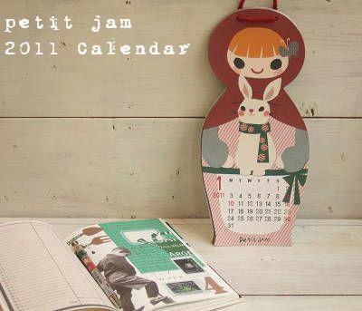 petit jam カレンダー