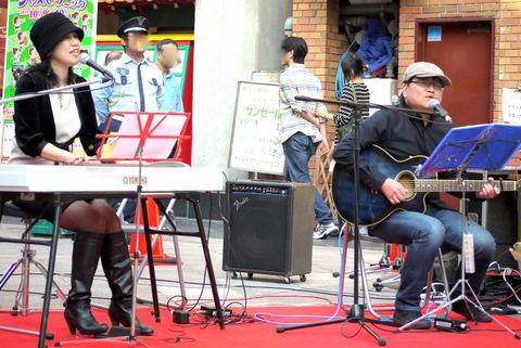 南京町広場ステージ