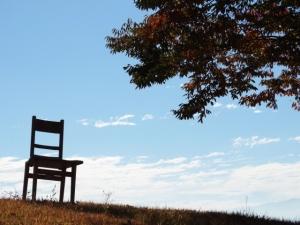 青空 椅子 木 AC