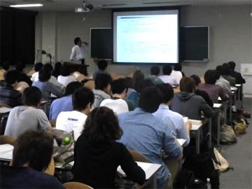 徳島大学講義風景