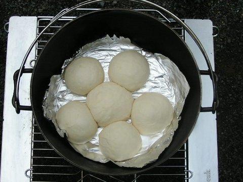 パン焼入れ前