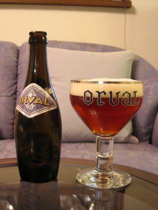 ベルギービール オルヴァル