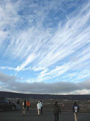 ボルケーノの雲