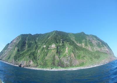 御蔵島晴れ