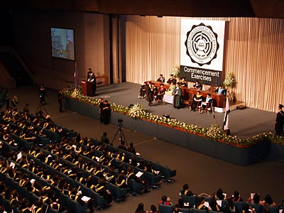 卒業式風景