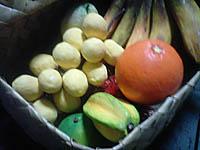 篭とフルーツ